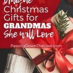 Christmas Gifts for Grandma pin
