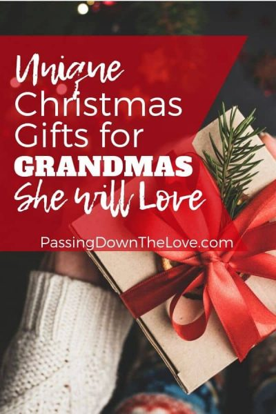Christmas Gifts for Grandma pin