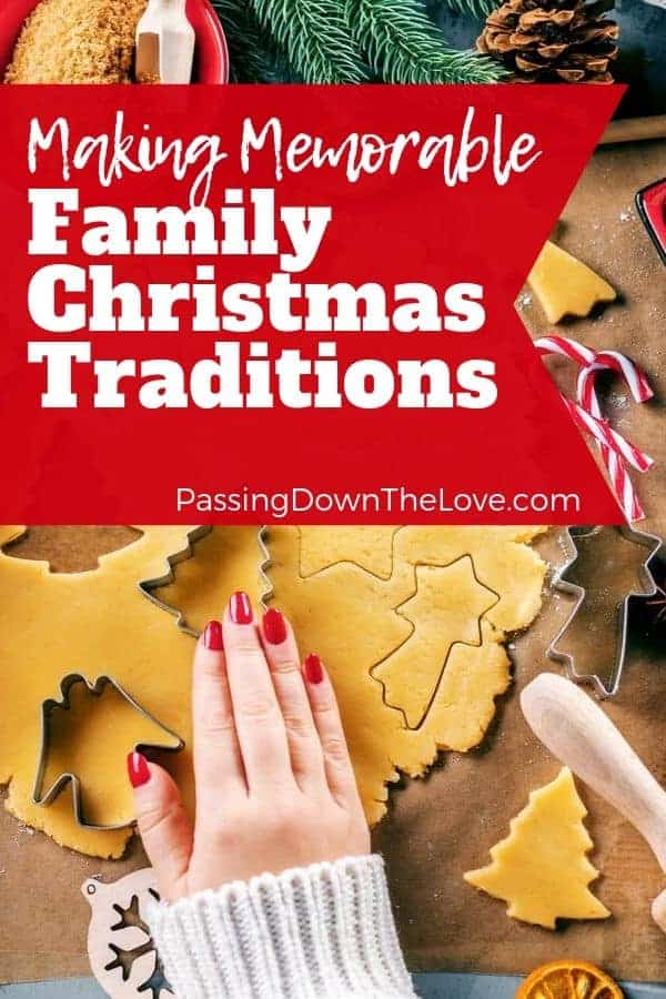 Family Christmas Traditions pin