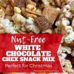 Christmas trail mix nut-free