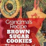Brownulated sugar cookies