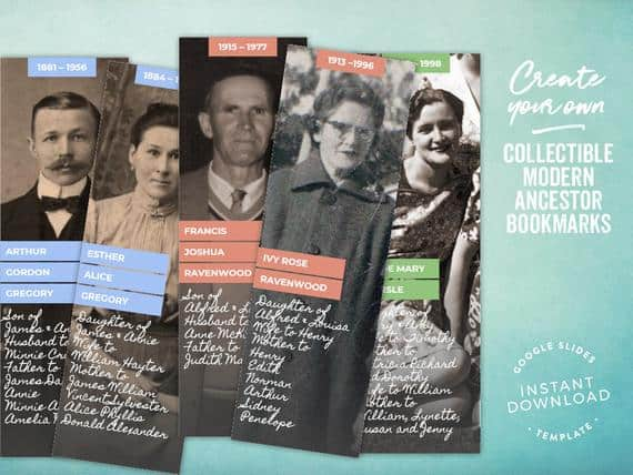 Two-sided Ancestor/Family Bookmarks