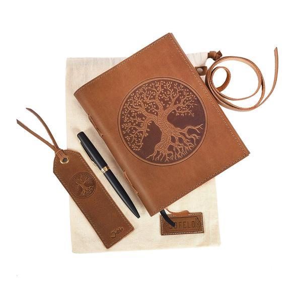 Tree of Life Journal Gift Set