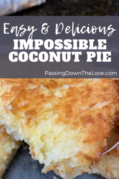 Coconut pie pin