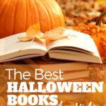 books and pumpkin