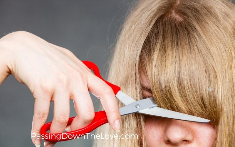 cut your bangs