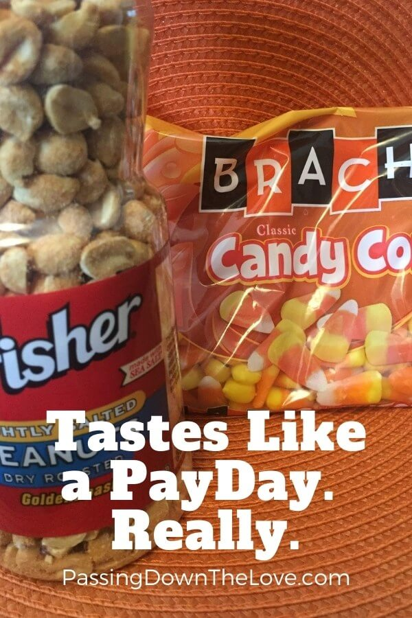 Candy Corn PayDay Mix copycat