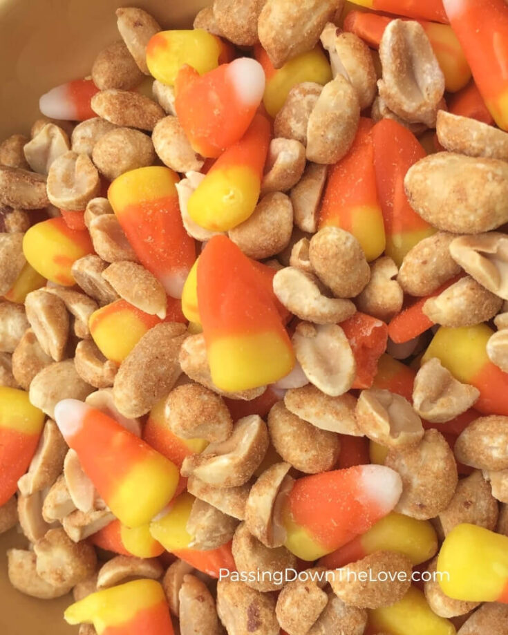 Pay Day Candy Corn Mix