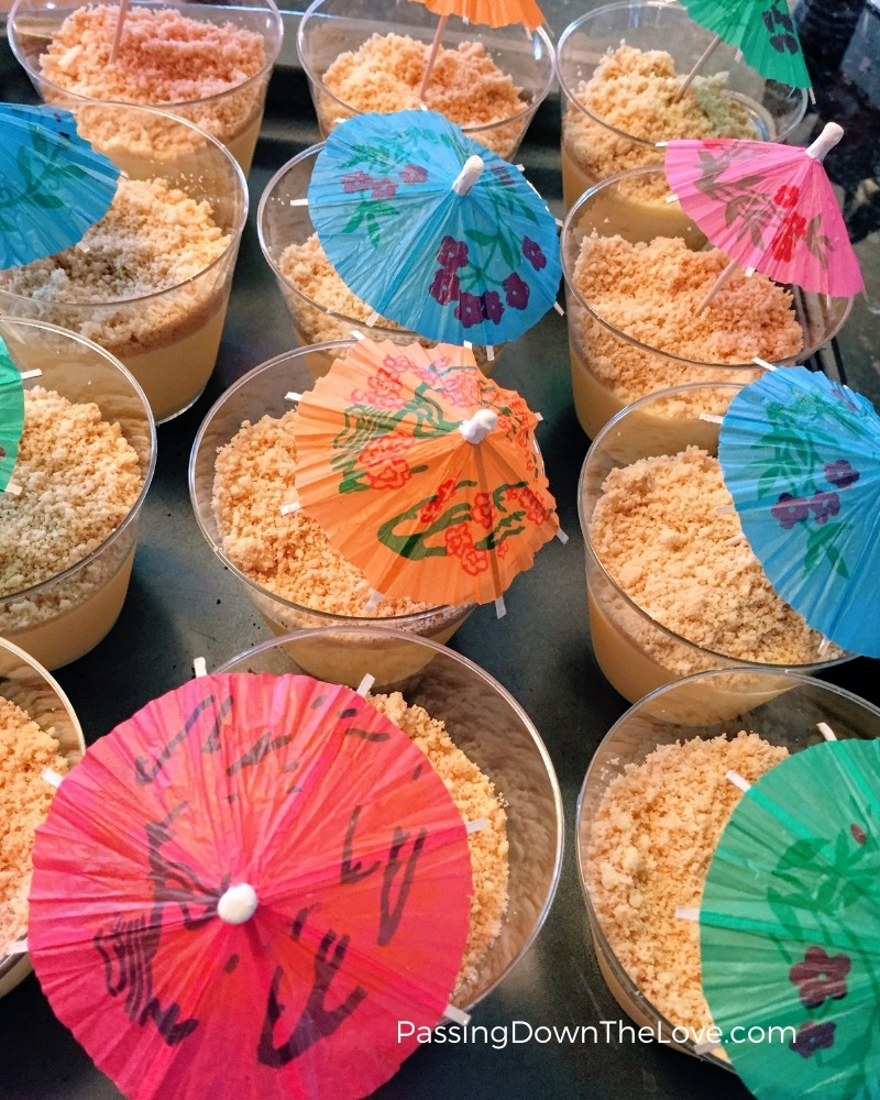sand cake cups