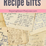 Unique Handwritten Recipe Gifts