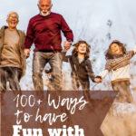 Grandparents and Grandkids having fun